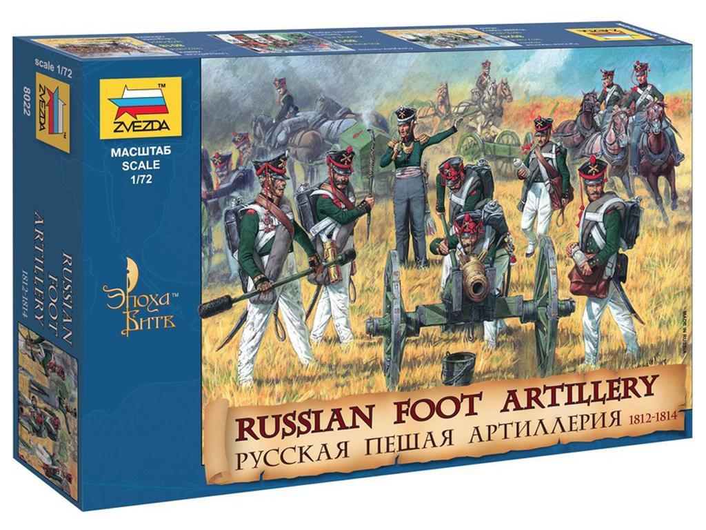 Artilleria Rusa. 1812-1814 (Vista 1)