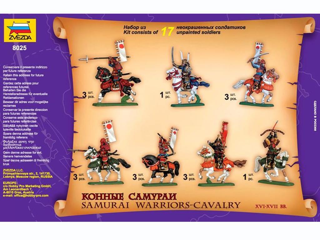 Caballeria Samurai. Siglos XVI/XVII (Vista 3)