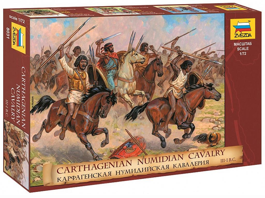 Caballeria cartaginesa Numidia (Vista 1)