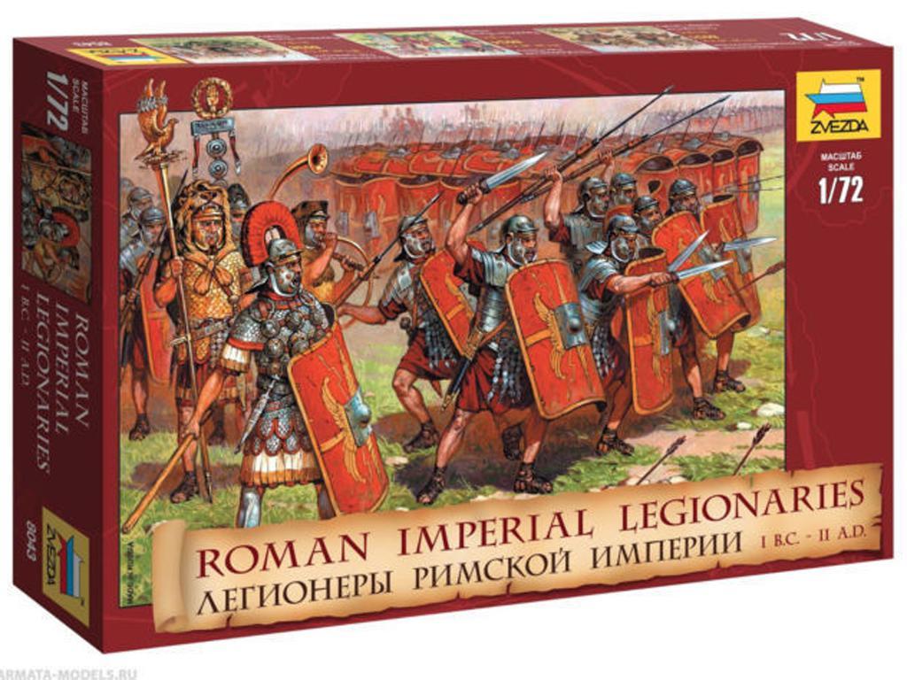 Legionarios Imperiales Romanos (Vista 1)