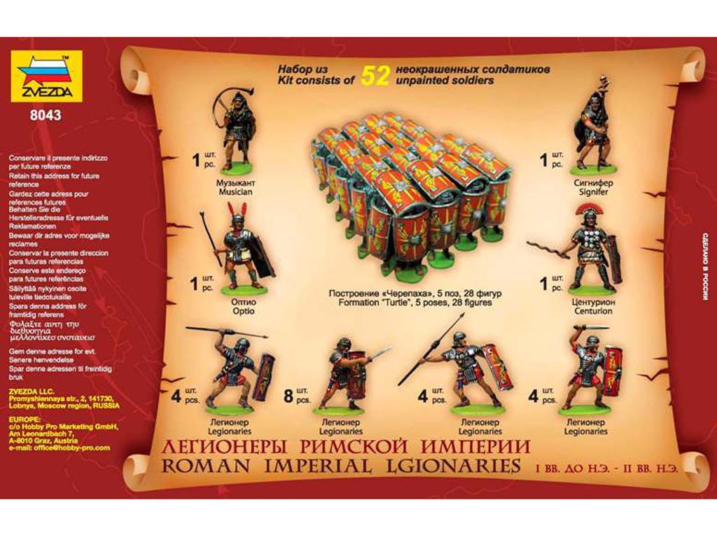 Legionarios Imperiales Romanos (Vista 2)